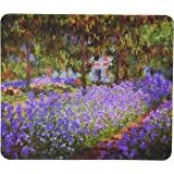 Rikki Knight Claude Monet Art Garden in Giverny Design Lightning Series Gaming Mouse Pad (MPSQ-RK-3530)
