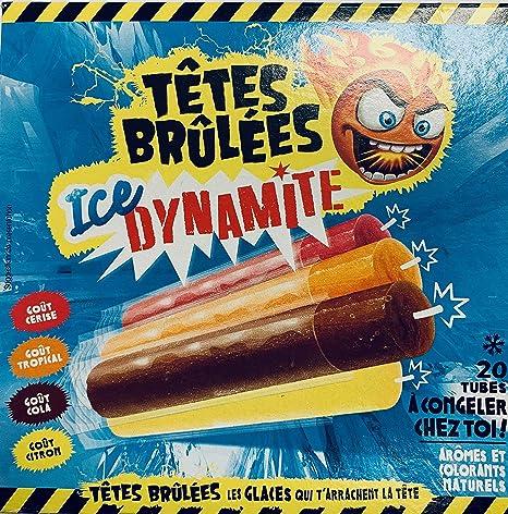 Chupete para congelar x 20 cabezales quemados ICE Dynamite ...