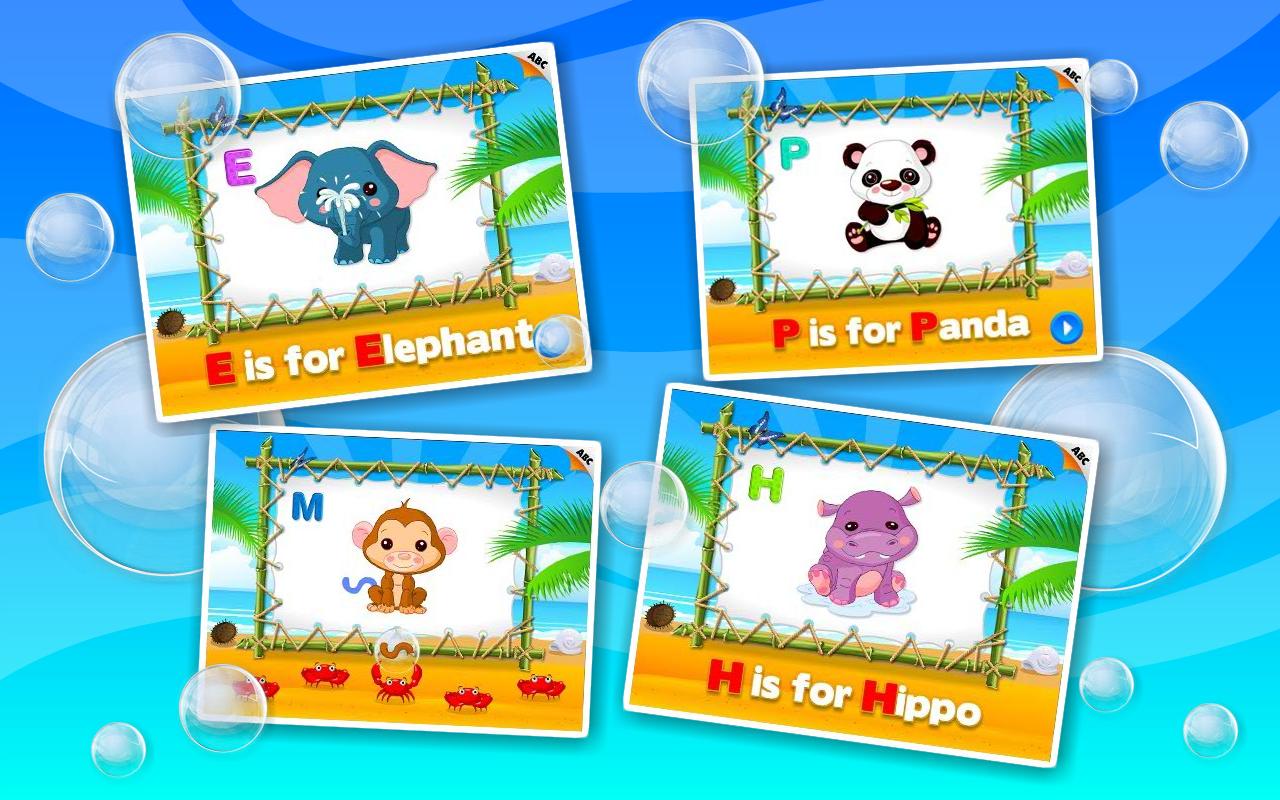 Amazon.com: Preschool Educational Games - ABC Alphabet
