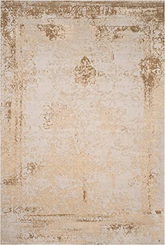 Cheap Safavieh Classic Vintage Collection CLV125K Distressed Cotton Area Rug living room rug for sale