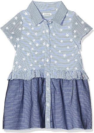 Ikks Junior Robe Brodee Etoile Jupe Bleu Bleu Ciel 40 18 24 Mois Taille Fabricant 18m Bebe Fille Amazon Fr Vetements Et Accessoires