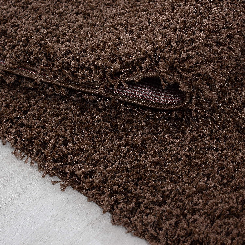 Hochflor Shaggy Teppich für Wohnzimmer Langflor Pflegeleicht Pflegeleicht Pflegeleicht Schadsstof geprüft 3 cm Florhöhe Oeko Tex Standarts Teppich, Maße 160x230 cm, Farbe Creme B01I07PYXC Teppiche 64beb9