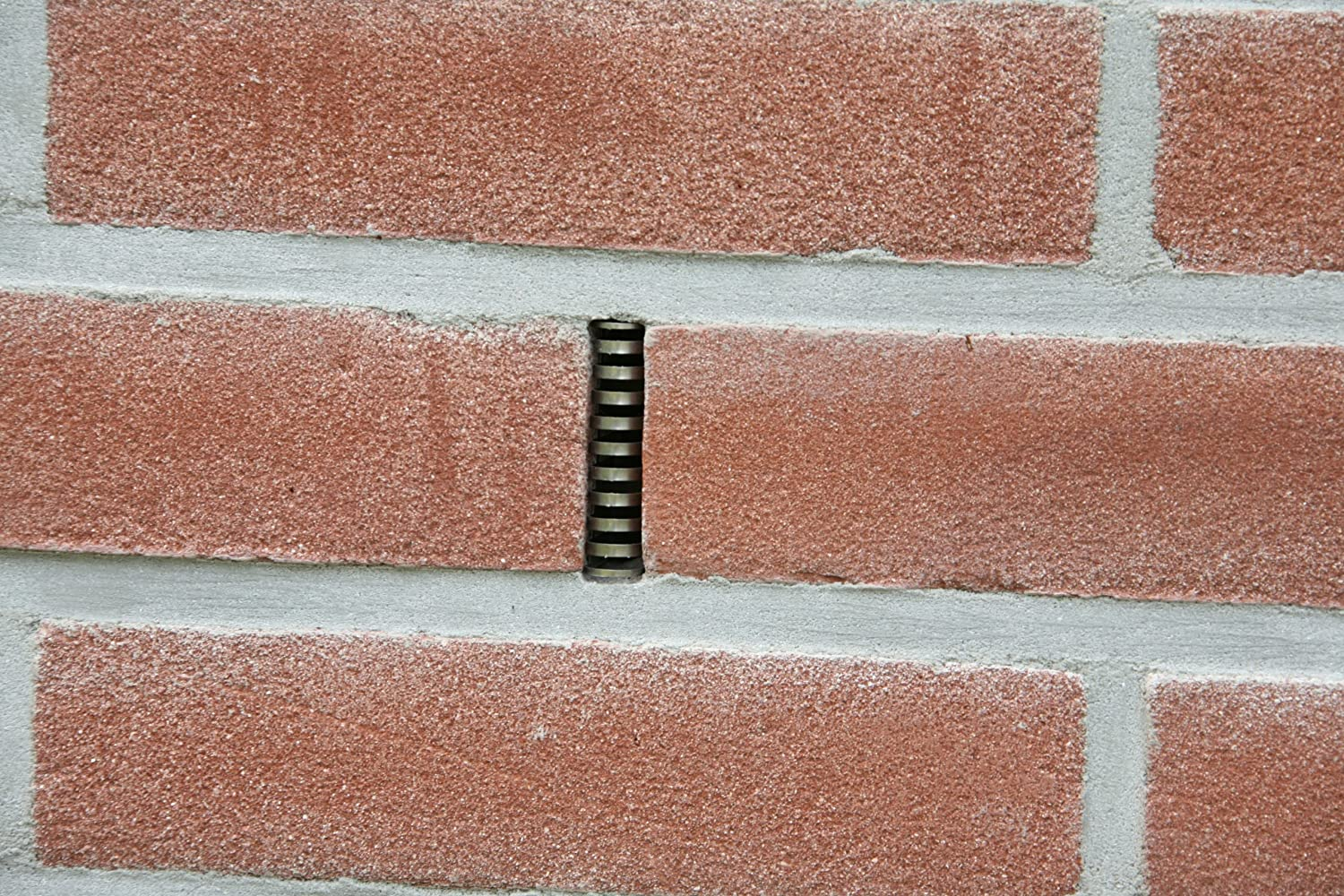 Amazoncom RidOMice Inch Stainless Steel Weep Hole Cover - Brick weeps