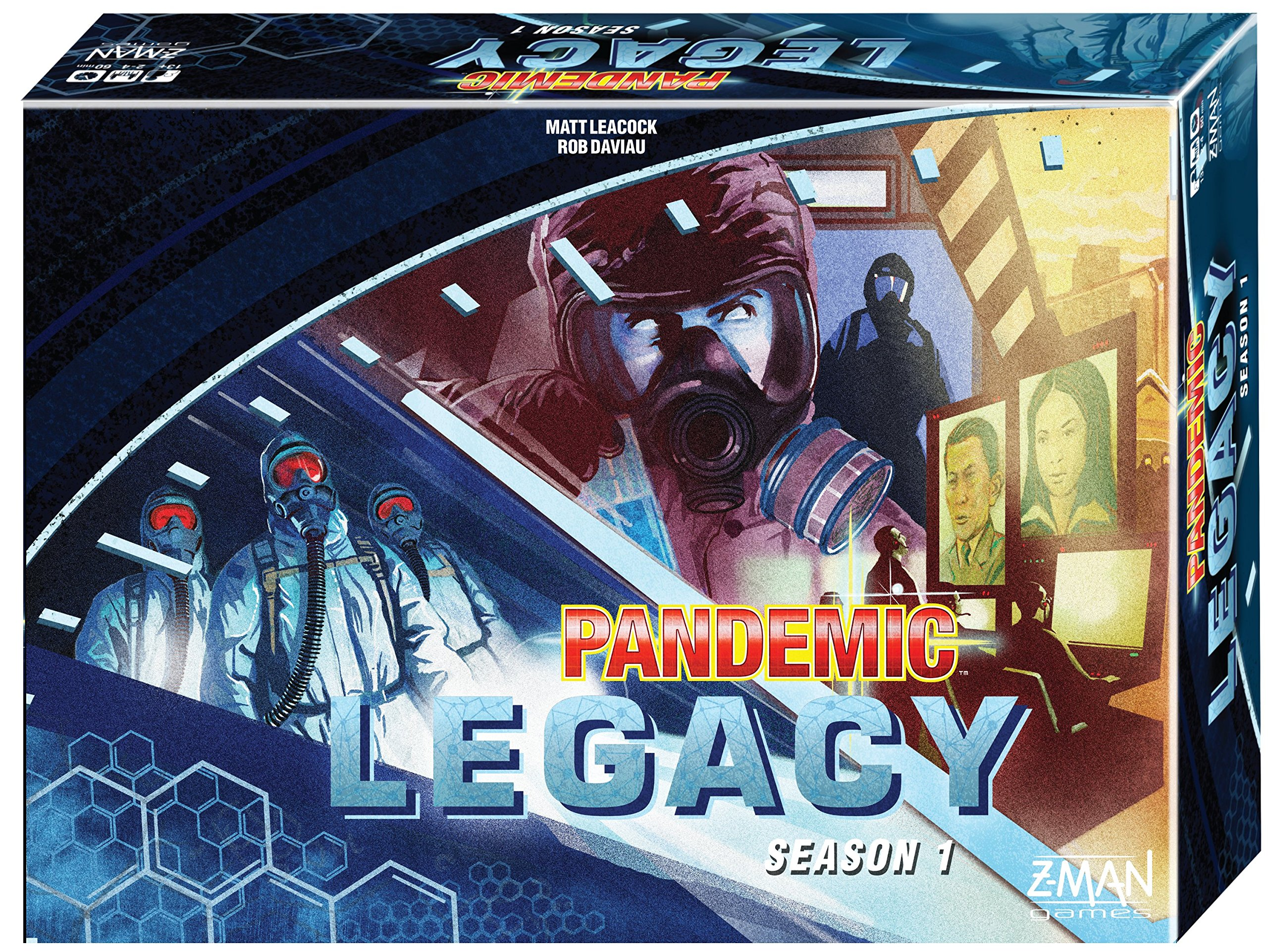 Pandemic Legacy Blue Board Game 6