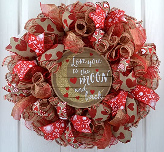 Amazon Com Valentine S Day Wreath Valentine Wreath Love You To