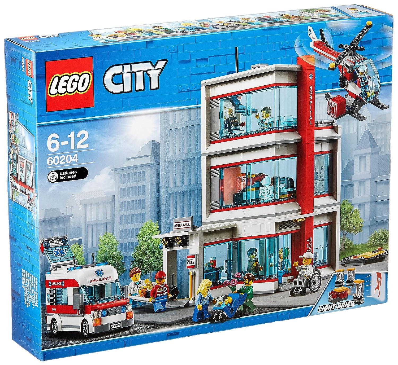 LEGO City Krankenhaus (60204) Kinderspielzeug B0765CTSHX Bau- & Konstruktionsspielzeug Einfach zu bedienen | Deutschland Outlet