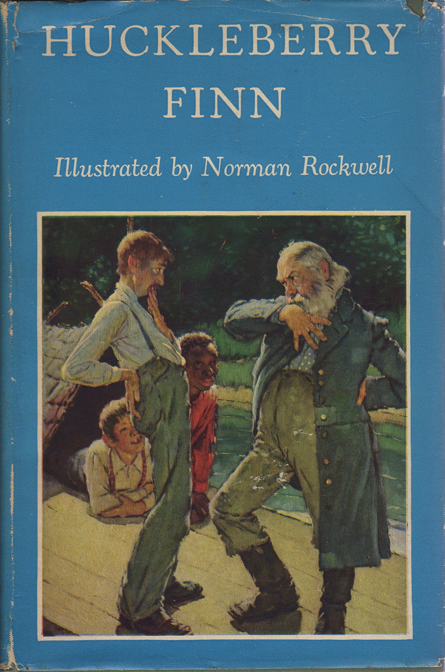 huckleberry finn illustrated by norman rockwell 1940