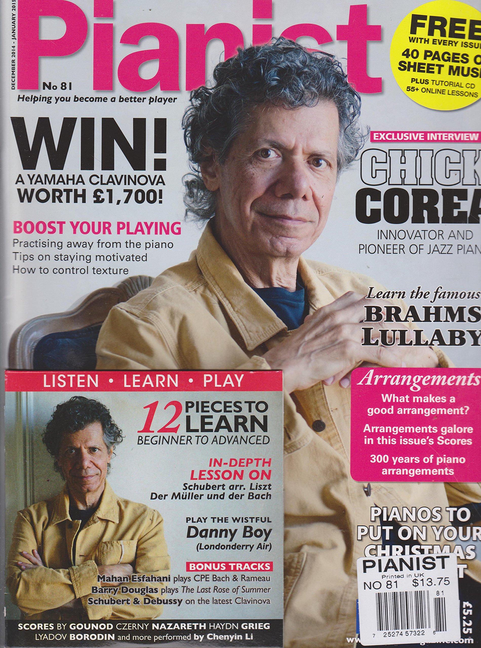 Pianist Magazine Number 81 December 2014-January 2015 PDF