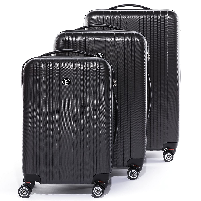 Amazon.com: FERGÉ Trolley set - 3 suitcases hard-top cases ...