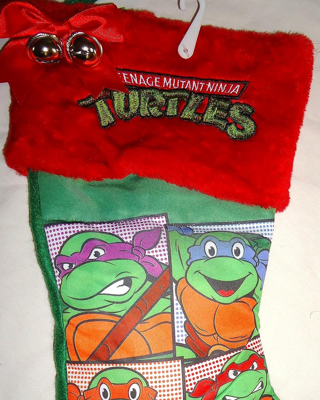 Teenage Mutant Ninja Turtles Christmas Stocking Tmnt 16 Inch: Amazon ...