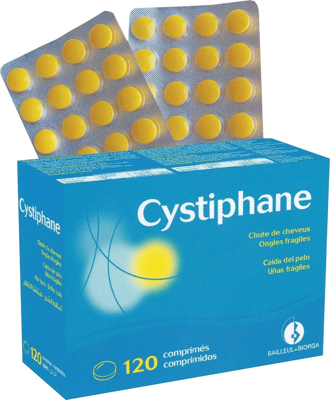 cystiphane Cabello y las uñas - alimentos suplemento ha un efecto de doble acción para mantener el pelo y uñas saludable - Pack 4 x 120 Tabletas: Amazon.es: ...