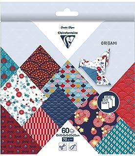 Clairefontaine 95351/C Samt-60/Blatt Origami Format 15/x 15/cm Kiribati