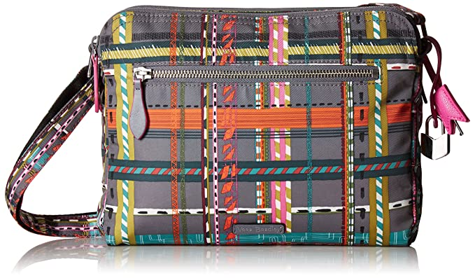 820ea7fab9 Vera Bradley Midtown Crossbody City Plaid  Handbags  Amazon.com