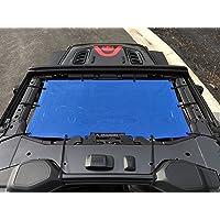 Alien Sunshade Jeep Wrangler JL & JLU (2018-2021) – Front Mesh Sun Shade for Jeep JL Unlimited - Blocks UV, Wind, Noise…