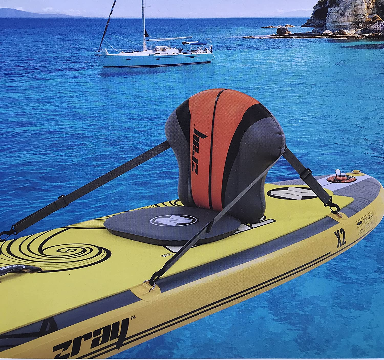 F2 SUP Sitz Kajak Sitzpolster Stand Up Paddle Board Seat schwarz