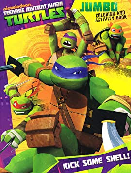 Teenage Mutant Ninja Turtles Coloring Book Set by Bendon ...