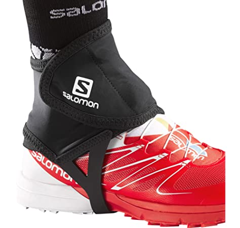 Salomon TRAIL GAITERS LOW Polainas: Amazon.es: Deportes y aire libre