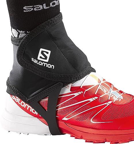681d182e75b Amazon.com  Salomon Trail Gaiters Low - Large - Black