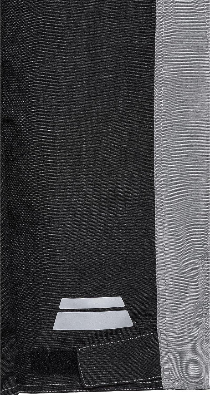 Verbindungsrei/ßverschluss Taschen f/ür Knie- und H/üftprotektoren Zwei Einschub- Protektoren Optional nachr/üstbar Zwei Ges/ä/ßtaschen XS-2XL DXR Motorradhose Damen Sommer Textilhose Grau