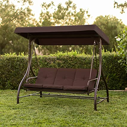 Best Convertible Patio Swing Chair For 3