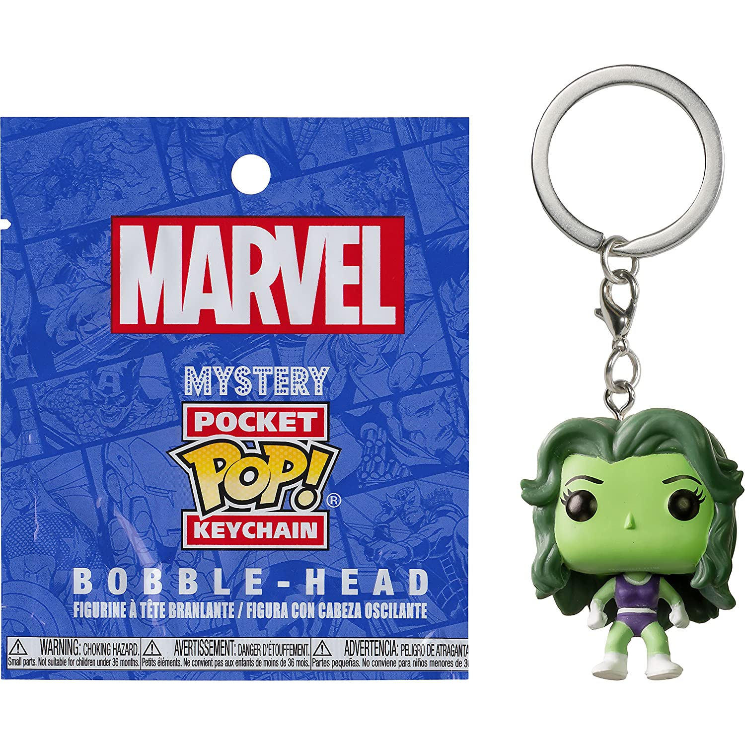 Amazon.com: Funko She-Hulk Mystery Pocket POP! x Marvel ...