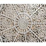 Forwall fototapete vlies tapete design tapete moderne wanddeko gratis wandaufkleber mandala in - Wandbild orientalisch ...