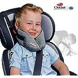 SANDINI SleepFix® Kids Outlast® – Kinder Schlafkissen/ Nackenkissen mit Stützfunktion und Temperaturausgleich – Kindersitz-Zubehör für Auto/ Fahrrad/ Reise – Verhindert Abkippen des Kopfes im Schlaf