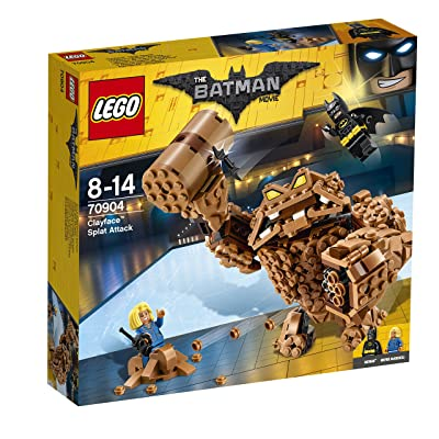 LEGO The Batman Movie Clayface Splat Attack Costruzioni: Toys & Games