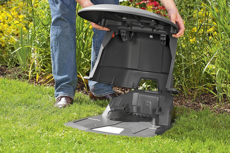 Gardena M292418 - Caseta para la estacion de Carga Robot cortacesped: Amazon.es: Jardín