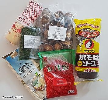 Yakisoba ingredientes Juego Razón ingredientes Yakisoba de salsas japonesa, Mayonesa, Fideos de pasta, benishoga, aonori, shii Take de setas Receta, ...