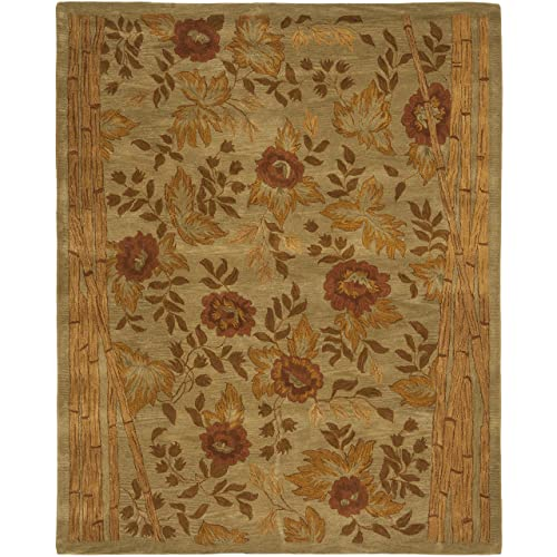 Safavieh Hampton Collection HA541A Handmade Multicolored Premium Wool Area Rug 9 x 12