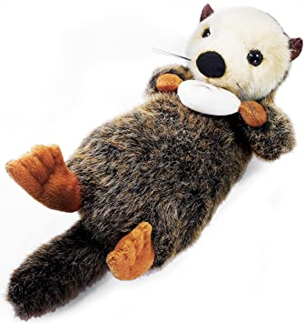 amazon com oliver the sea otter 10 inch stuffed animal plush by