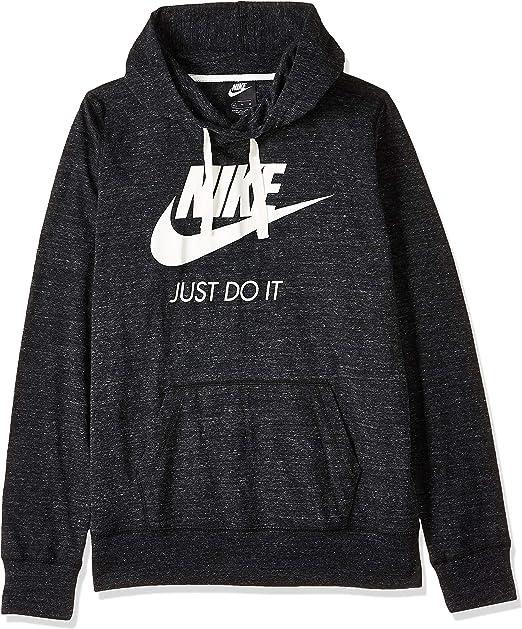 Nombrar Chillido Menos  Nike Sportswear Gym Vintage Hoodie, Felpa Donna, Black/Sail, XL: Amazon.it:  Abbigliamento