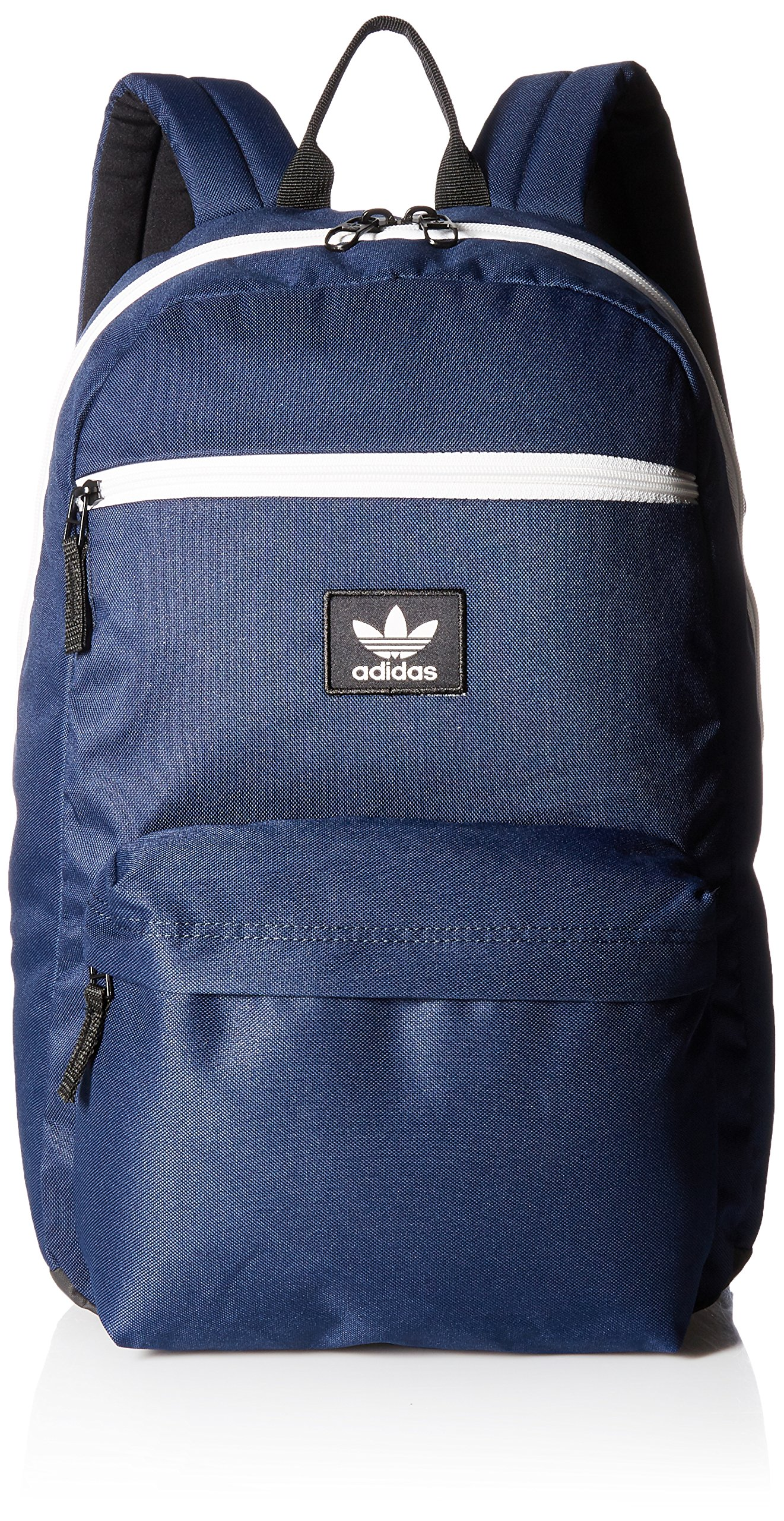 adidas Originals National Padded Backpack, Collegiate Navy/Chalk White, One Size