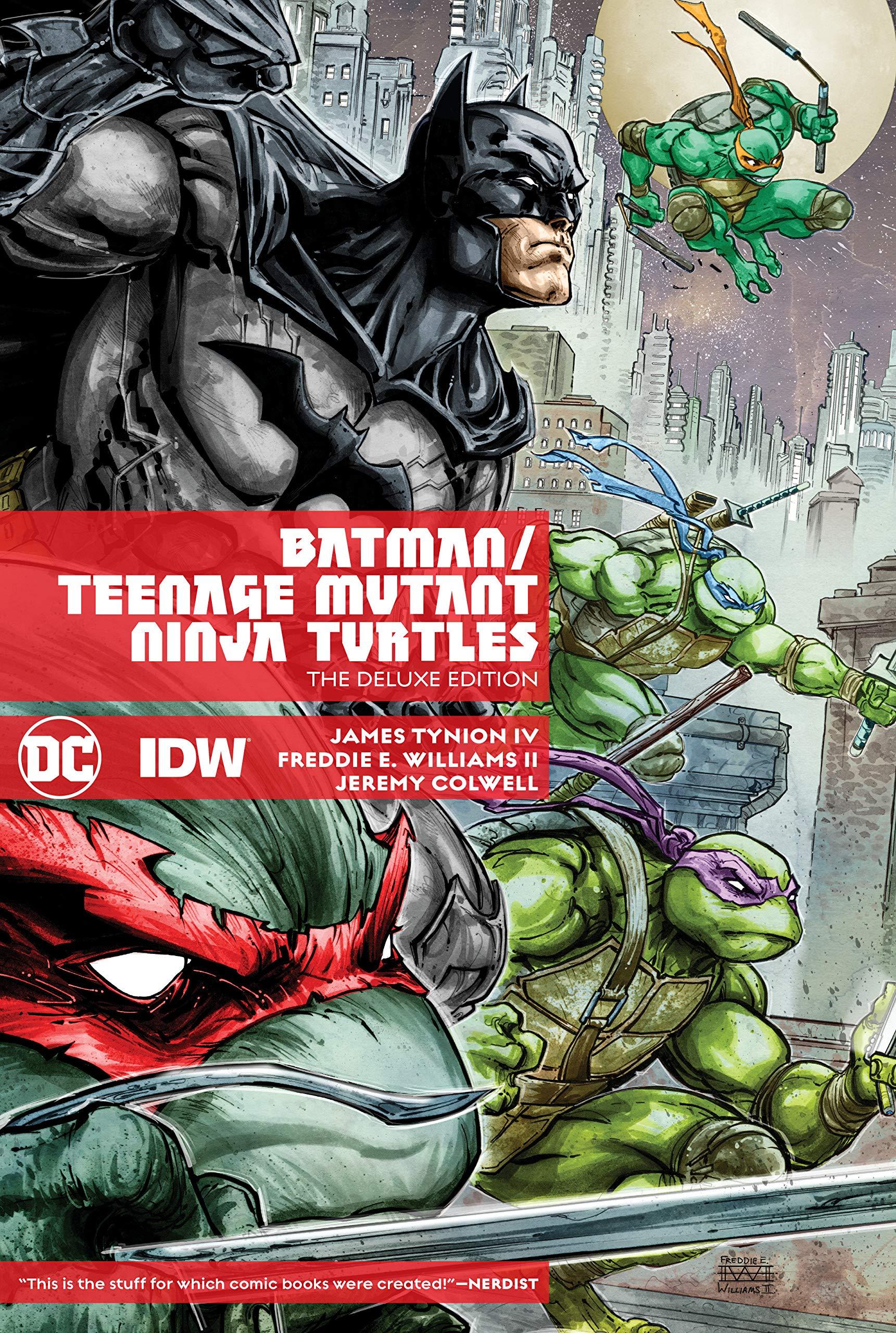 Batman/Teenage Mutant Ninja Turtles Deluxe Edition: Amazon ...