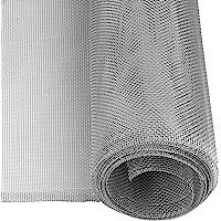 Windhager 03621 Aluminium Insectenhor, Weefsel, Aluminium Gaas, Ideaal voor Lichtschachten, Robuust, Sterk, Robuust…