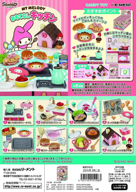 ON BOX 8 Stck My Melody Gastfreundschaft Kche (Candy (Candy (Candy Toys & Kaugummi) B00LBOHZK2   Charakteristisch  91d579