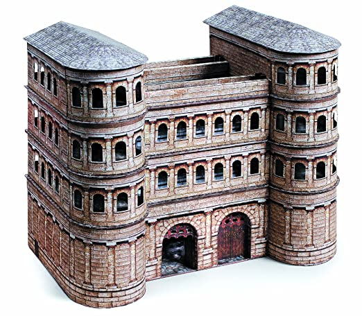 Amazon com: Schreiber-Bogen Porta Nigra Card Model: Toys & Games