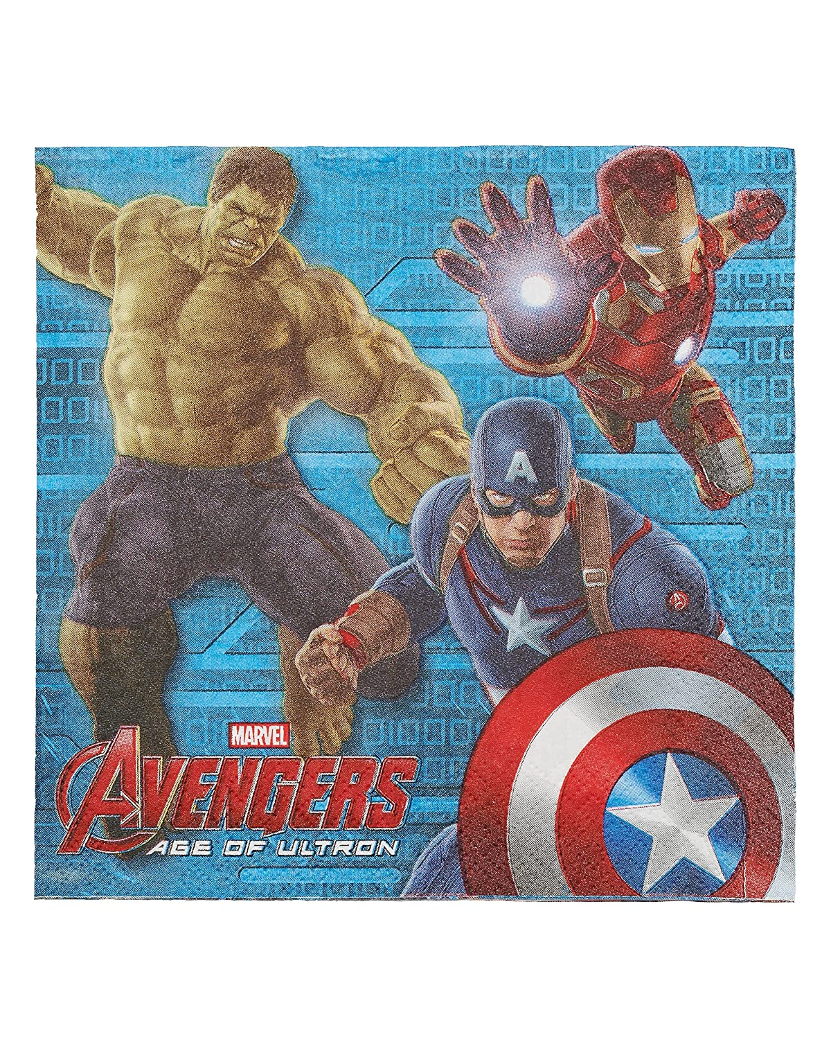 American Greetings 013051541231 Avengers Lunch Napkins (16-Count)