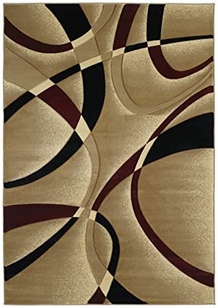 United Weavers Contours Collection La Chic 2 Feet 7 Inch By 7 Feet