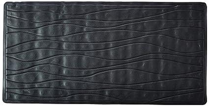 Bon Carnation Home Fashions Large 18 Inch By 36 Inch Rubber Bath Tub Mats,