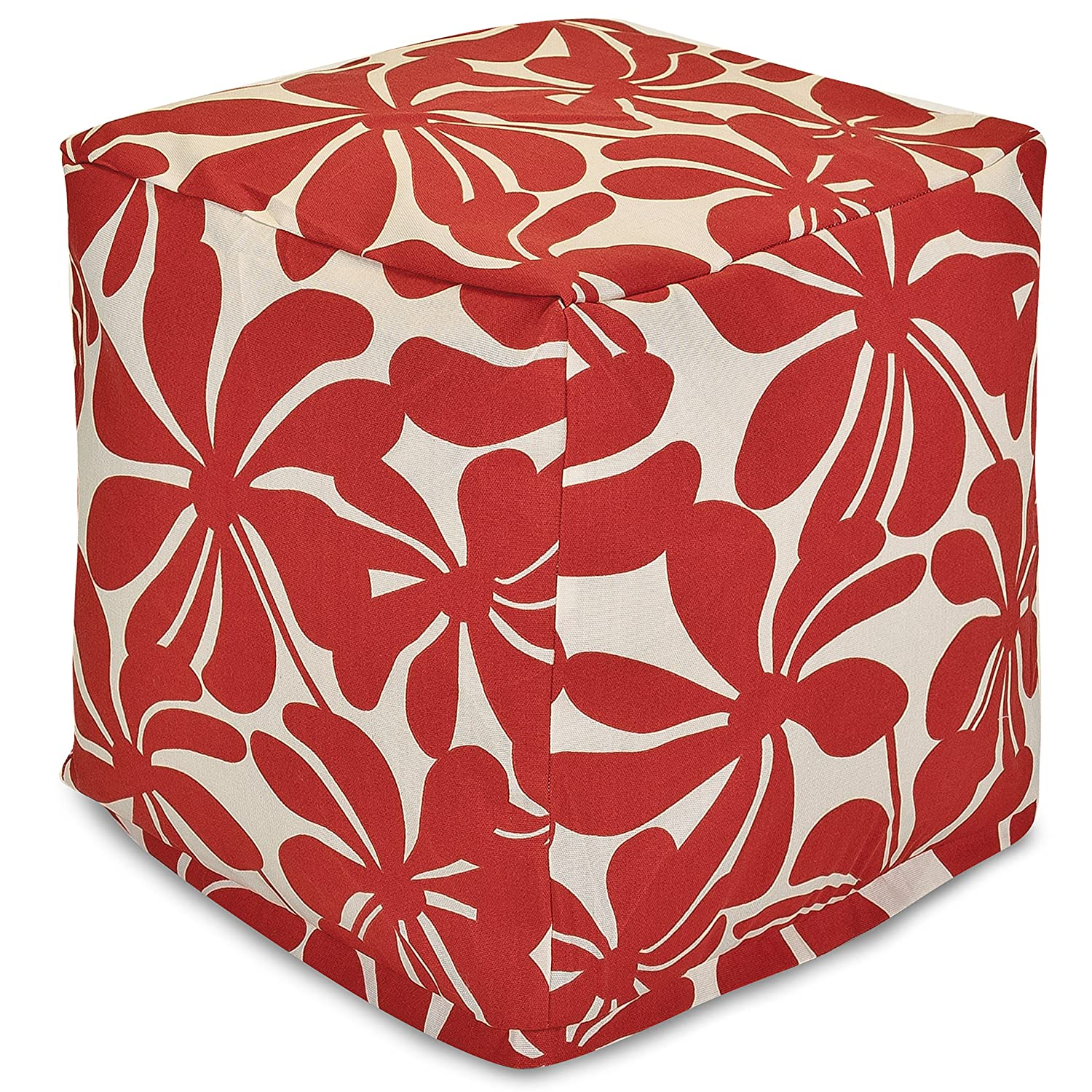 Majestic Home Goods Red Plantation Small Cube 85907220117