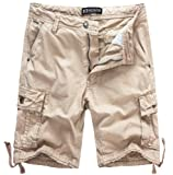 Amazon Price History for:WenVen Men's Cotton Twill Cargo Shorts Outdoor Wear