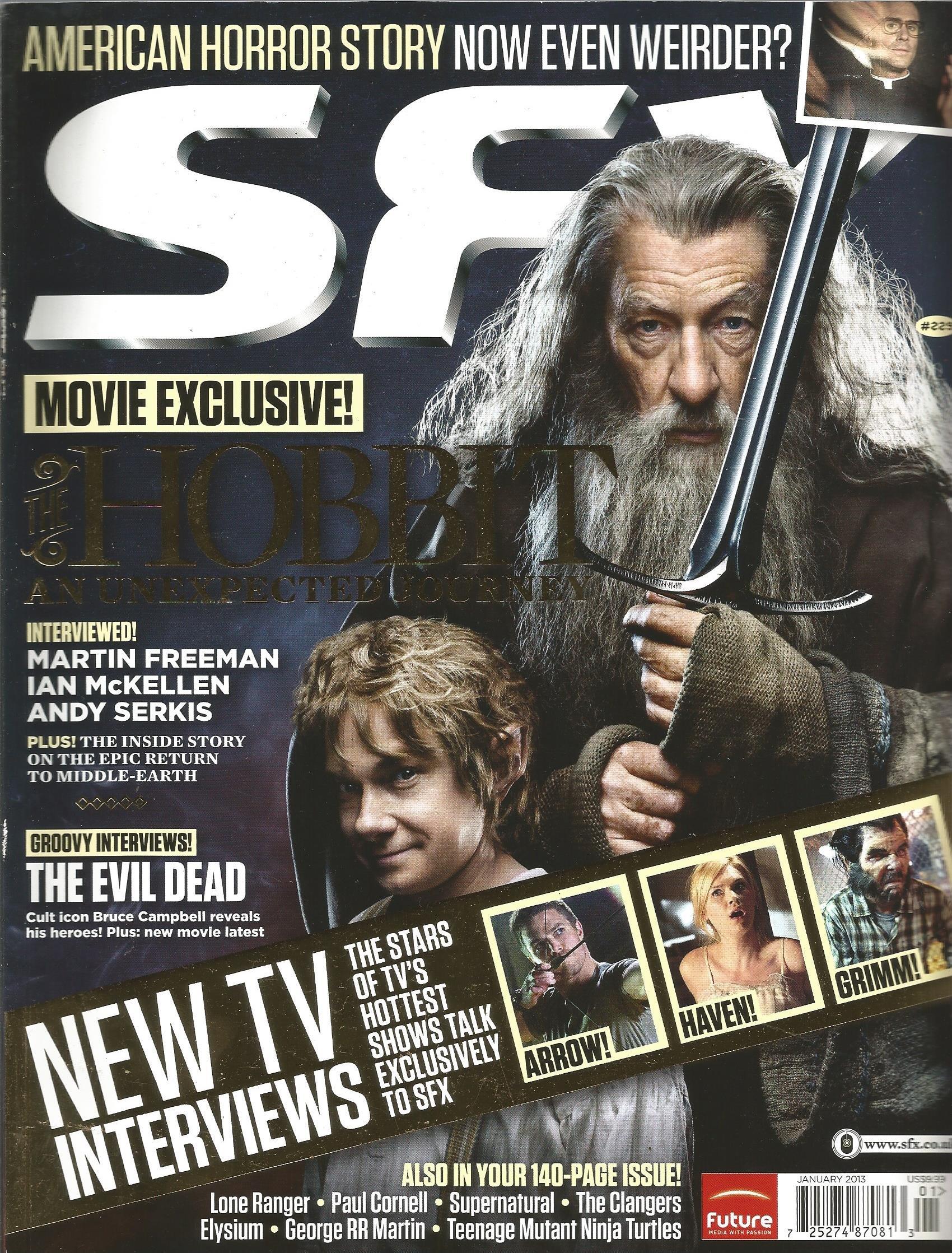 SFX Magazine (Issue 229, January 2013) pdf