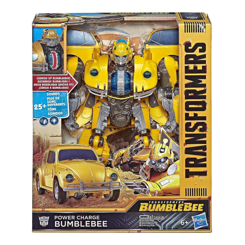 Hasbro Transformers E0982EU4 - Movie 6 Power Charge Bumblebee Roboter-Actionfigur