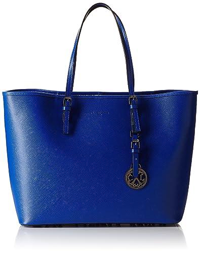 Christian Lacroix Mcl782q, Damen Tote Tasche, Blau Blau