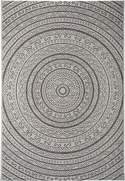 Amazon.de: Benuta In- & Outdoor-Teppich Canvas Grau
