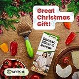 Yarmoshi Cheese Slicer/Cheese Plane and Server