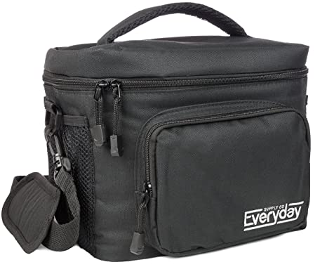 Insulated Lunch Bag for Men | Adult Lunch Box | Lunch Boxes for Men |  Cooler Bags | Lunchbox by Everyday Supply Co | Non-Toxic Stain Resistant  Nylon |