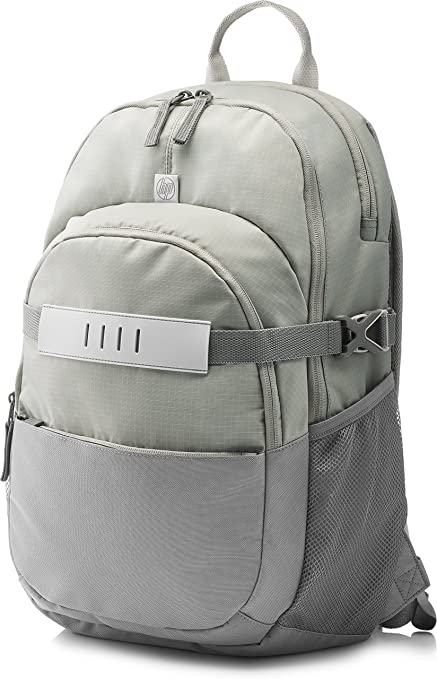 c61b64eaf HP T0E29AA 15.6-inch Explorer Laptop Backpack (Gray) - Buy HP T0E29AA 15.6- inch Explorer Laptop Backpack (Gray) Online at Low Price in India -  Amazon.in